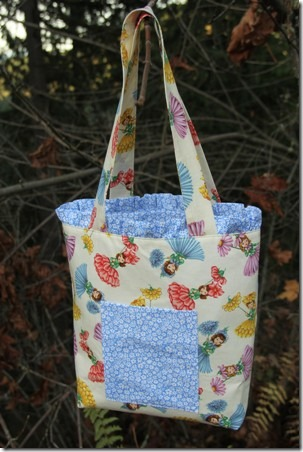 Ruffled Tote Bag 16