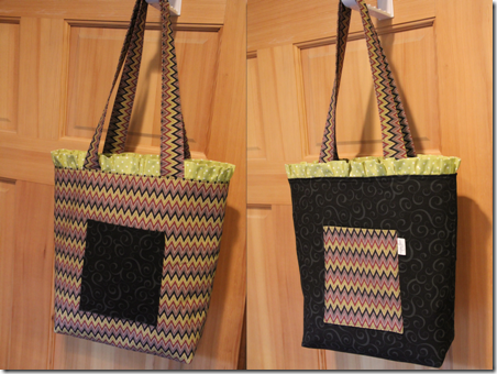 Ruffled Tote Bag 17