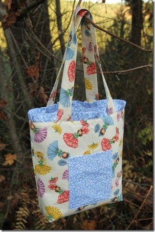 Ruffled Tote Bag - Crafty Staci