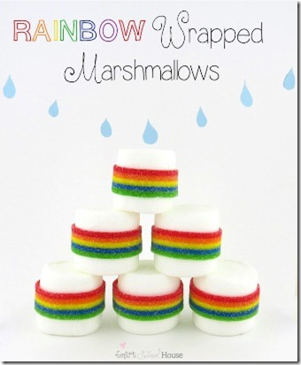 Rainbow Wrapped Marshmallows1