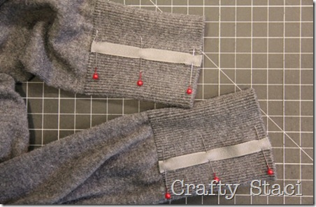Adding Detail to Spring Sweater - Crafty Staci 5