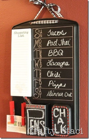 Cookie Sheet Kitchen Command Center - Crafty Staci 12