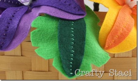 Felt Flowers - Crafty Staci 12