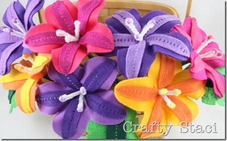Felt Flowers - Crafty Staci 13