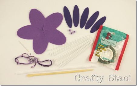 Felt Flowers - Crafty Staci 3