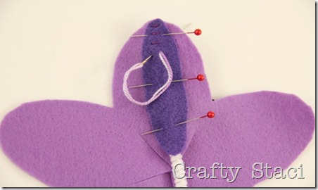 Felt Flowers - Crafty Staci 5