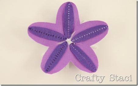 Felt Flowers - Crafty Staci 6