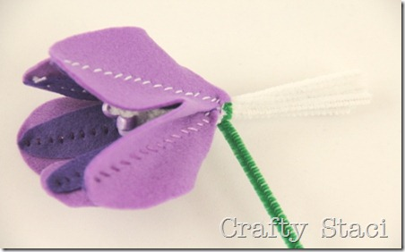Felt Flowers - Crafty Staci 8