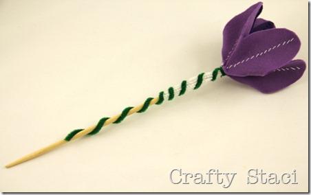 Felt Flowers - Crafty Staci 9