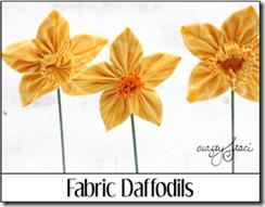 Fabric Daffodils