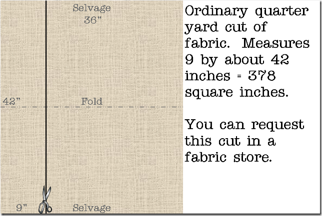 Ordinary Quarter Yard of Fabric - Crafty Staci
