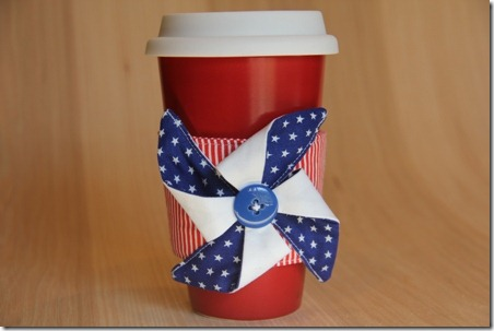 Pinwheel Coffee Cup Sleeve - Crafty Staci 13