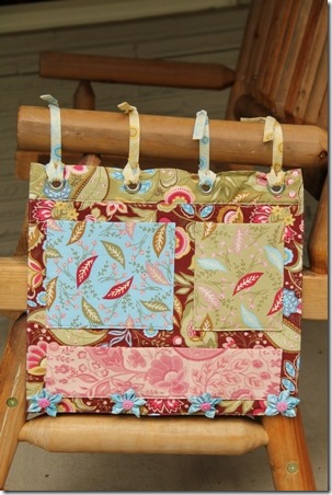 Rocking Chair Organizer - Crafty Staci 1