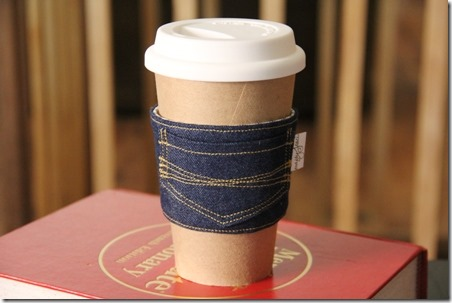 New Jeans Coffee Sleeve - Crafty Staci 11