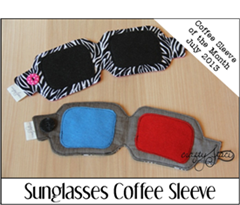 Sunglasses Coffee Sleeve