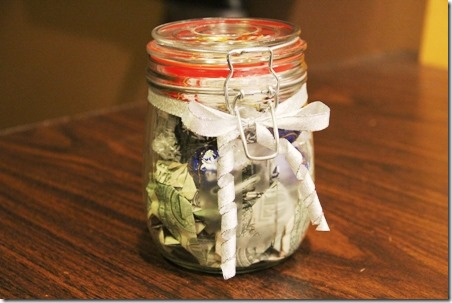 Money Jar Wedding Gift 3 - Crafty Staci