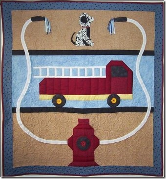 To the Rescue Baby Quilt on Free Quilt Patterns