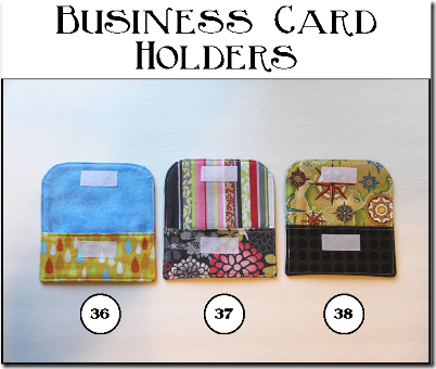 Business Card Holders - Crafty Staci