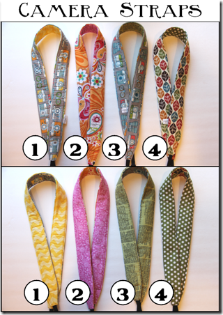 Camera Straps - Crafty Staci