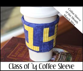 Class of '14 Coffee Sleeve