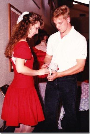 Going Away Dress 1991 - Crafty Staci
