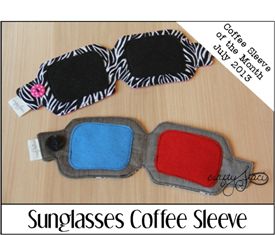 Sunglasses Coffee Sleeve