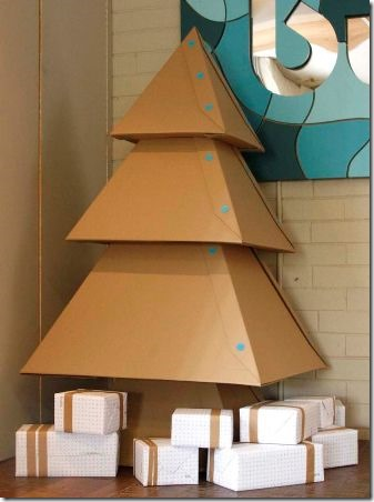 Cardboard Christmas Tree - Makedo on Instructables