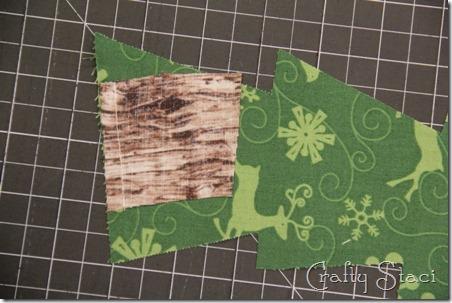Christmas Tree Coffee Sleeve - Crafty Staci 3
