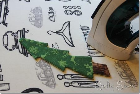 Christmas Tree Coffee Sleeve - Crafty Staci 8