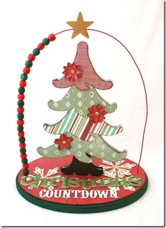 From My Feathered Nest - Christmas Bead Countdown