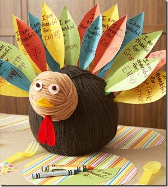 Parents Magazine Yarn Ball Turkey