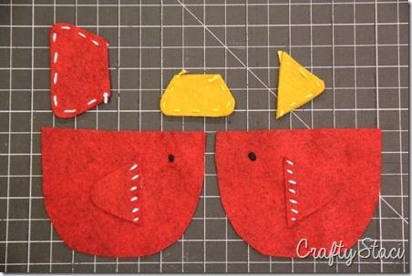 Teacup Bird Gift Card Holder - Crafty Staci 4