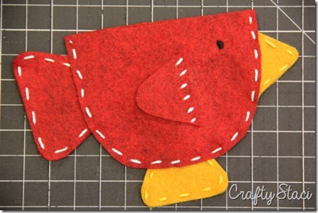 Teacup Bird Gift Card Holder - Crafty Staci 6