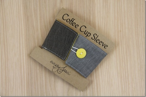 Coffee Cup Sleeves - CraftyStaci