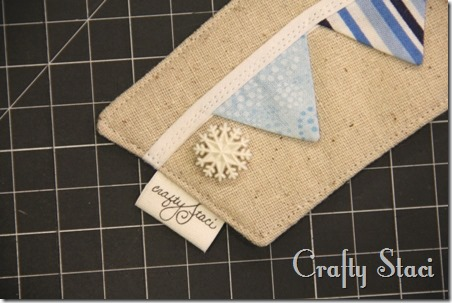 Coffee Sleeve of the Month - Pennant Banner - Crafty Staci 10
