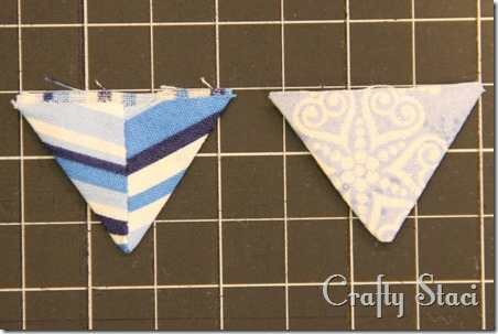 Coffee Sleeve of the Month - Pennant Banner - Crafty Staci 4