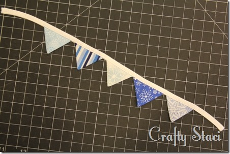 Coffee Sleeve of the Month - Pennant Banner - Crafty Staci 5