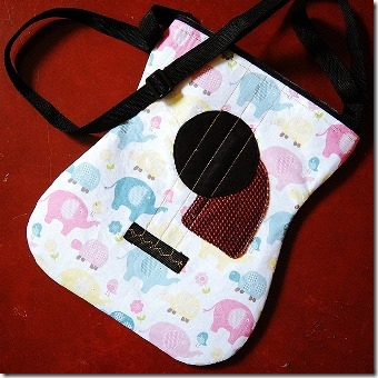 DIY Acoustic Guitar Bag from Bored and Crafty
