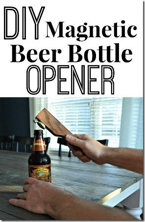 DIY Magnetic Beer Bottle Opener from Decor and the Dog
