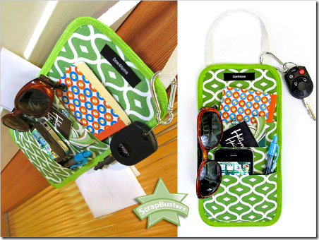 Doorknob Caddy from Sew4Home