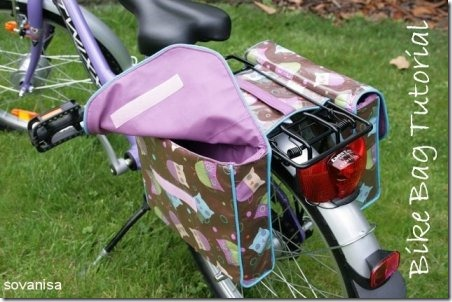 Double Bike Saddle Bag from Sovanisa