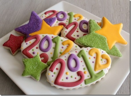 Happy New Year Cookies from Sweet Sugar Belle