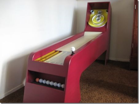 Homemade Skee Ball Game on Instructables