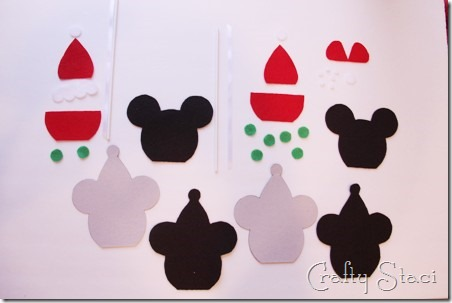 Mickey and Minnie Caramel Apple Ornaments - Crafty Staci 2