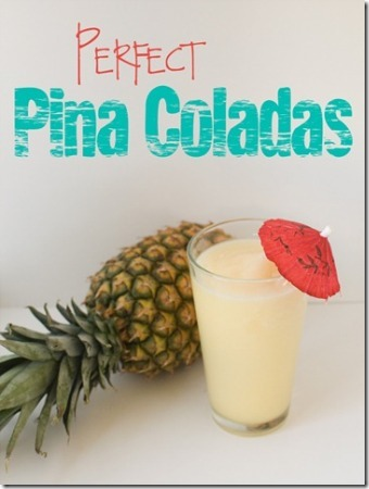 Perfect Pina Coladas from Over the Big Moon
