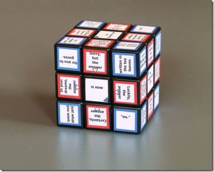 The Fortune Telling Cube from Instructables