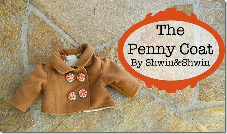 The Penny Coat from Shwin and Shwin