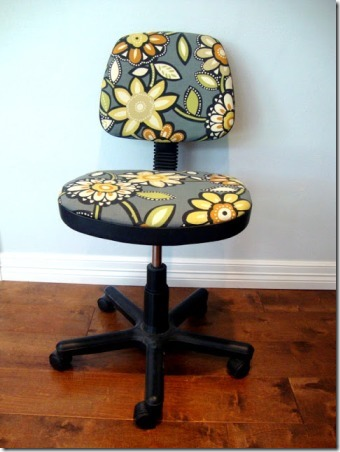 Chair Makeover by Finding Sunday