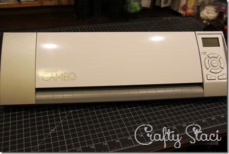 Clear Vinyl Revêtement de tablette à Tranfer vinyle - Crafty Staci 1
