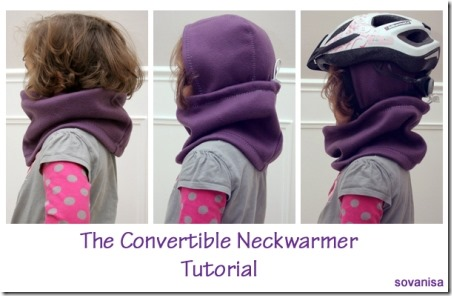 Convertible Neckwarmer from Sovanisa